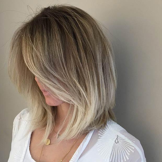 Mechas californianas en cabello muy corto