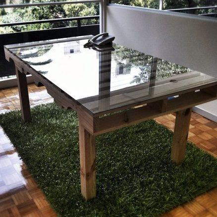 30 dise os de muebles de palets para tu jard n ideas for Muebles de jardin con palet